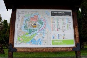 안 그래도 들어가는 길 헷갈리면 어쩌나 했는데 다행히 지도가 있었어요. 영어, 한국어로도 표시되어 있었구요.
