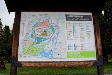 <p>안 그래도 들어가는 길 헷갈리면 어쩌나 했는데 다행히 지도가 있었어요. 영어, 한국어로도 표시되어 있었구요.</p>