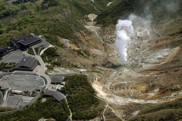 Ongoing Volcanic Activity At Hakone Japan Travel Tourism Guide - Japan map activity