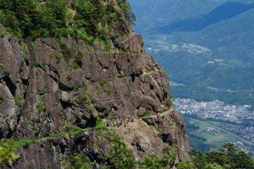 <p>Rock-climbing spot</p>