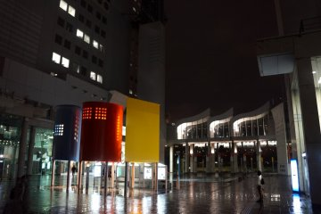 <p>우메다 스카이 빌딩, 신우메다 시티</p>