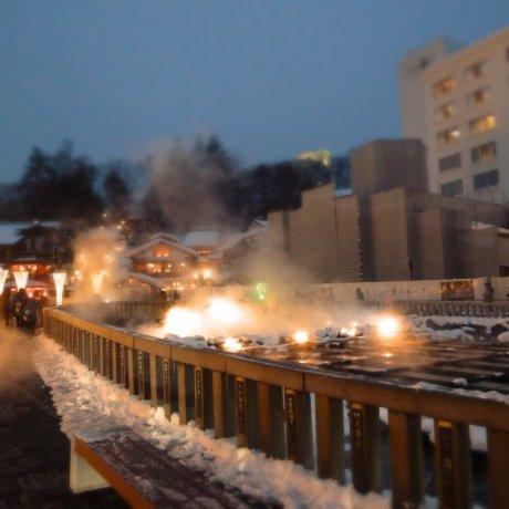 Winter Visit to Kusatsu Onsen