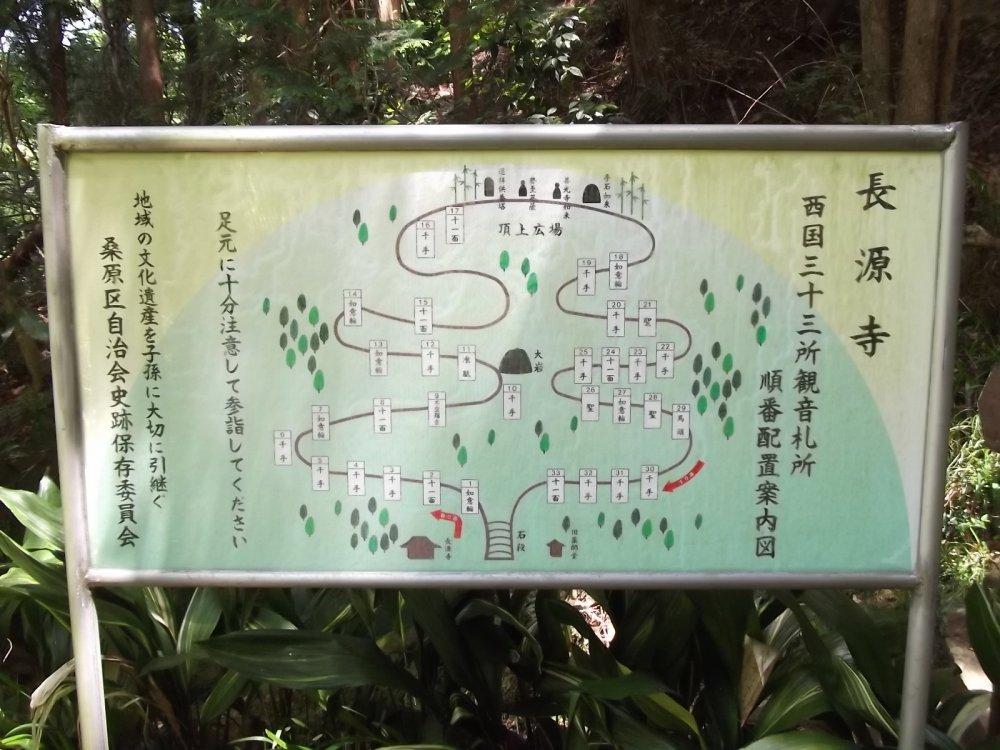 Карта холма, показывающая, кто где находится