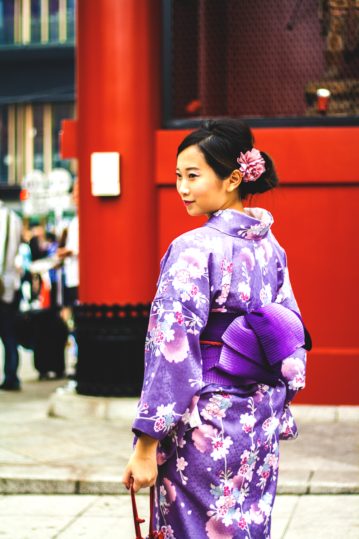 Les festivals au Japon sont les meilleurs moments pour revêtir son plus beau kimono, surtout lorsque le temps est aussi clément qu'au mois de Mai.