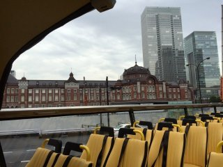 Each course starts from MarunouchiMitsubishi Building which is 3 min away from Tokyo station MarunouchiSouth exit on foot.