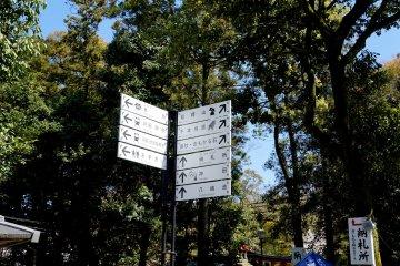 <p>표지판을 따라 센본 도리이로 가면, 수많은 도리이길이 나와요.</p>