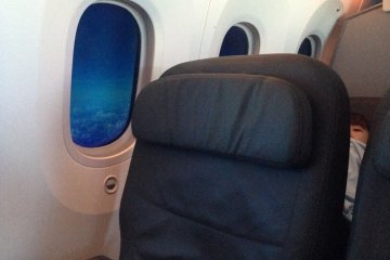 Premium Economy sized seats on Jetstar'sBoeing 787 Dreamliner Service