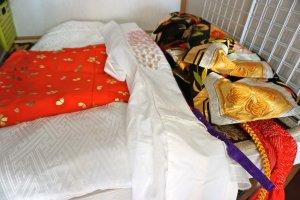 """Все слои, которые входят в """"Специальный план впечатлений от кимоно""""."""
