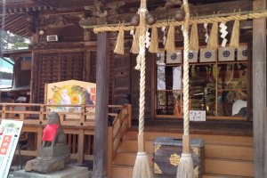 The main shrine with is a Tangible Cultural Asset in the City of Sendai