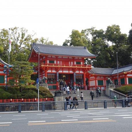 ศาลเจ้ายะสะกะ (Yasaka) เกียวโต