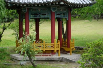 small pagoda to sit and relax