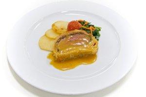 Beef Wellington on the Gala Dinner night - delish!
