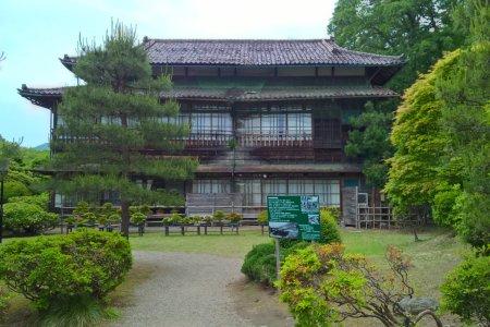สวนกุหลาบของโรงแรม Hanamaki