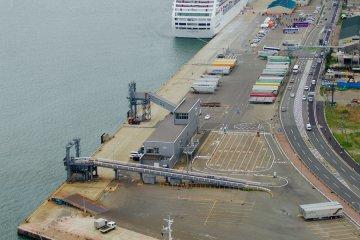<p>Coast guard ships ready to protect the marine traffic</p>