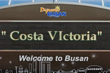 <p>Welcome to Busan - Costa Victoria</p>