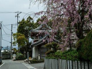 Le sixième temple est situé dans une zone résidentiel