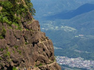 Amazing rock-climbing spot
