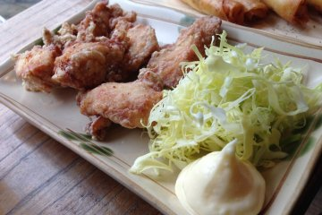 <p>Baird Taproom Harajuku Beer Karaage&nbsp;Chicken.</p>