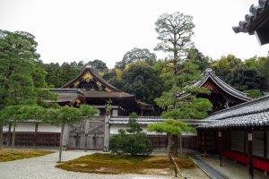 อาคาร เระอิเมะอิ (Reimei) และสวนโกะซะโชะ (Gozasho Garden)