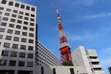 Vues depuis la Tokyo Tower