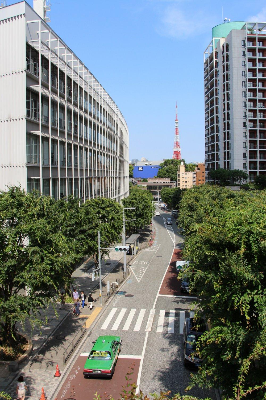Vue depuis le complexe immobilier Roppongi Hills