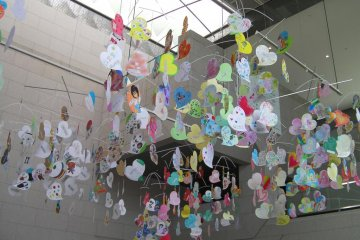 Art produced by local children