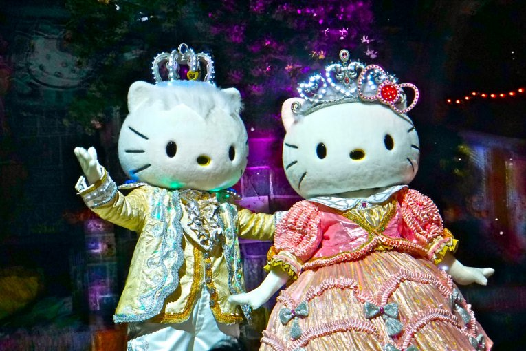 Hello Kitty Sanrio Puroland Tóquio