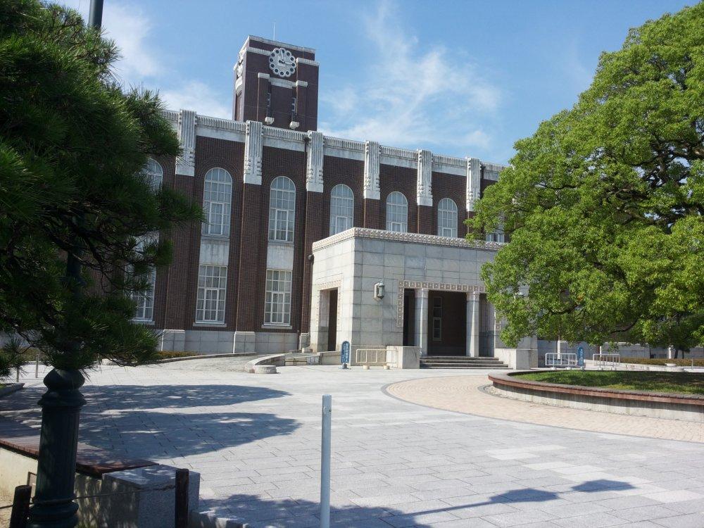 Здание Киотского Университета