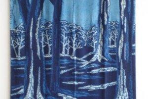 A forest scene, shibori style!