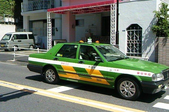 Taxis au Japon