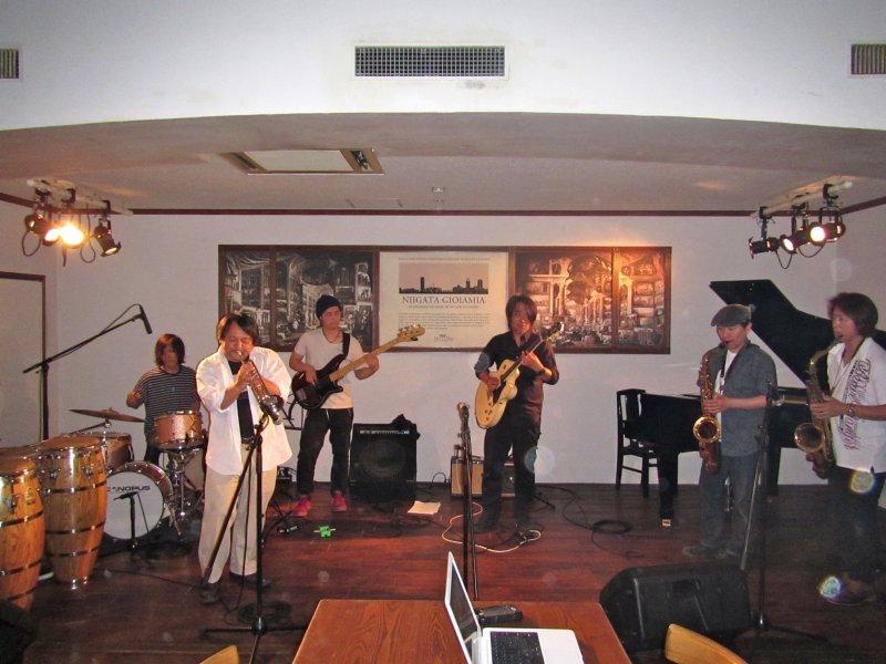 <p>A local band rocking an original piece</p>