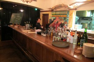 Another view of the bar