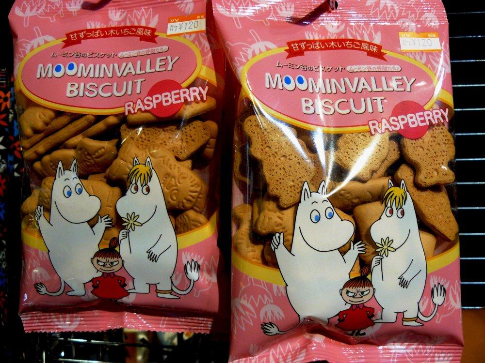 Печенье с муми-троллями