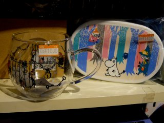 Чашка и коробка для ланча довольно дорогие