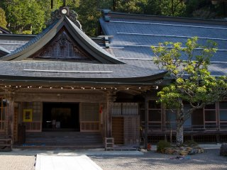 Hojo-in, maybe one of most unique temples to stay at