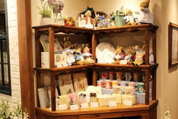 <p>A lot of&nbsp;memorabilia to add to the impressive theme of the cafe</p>