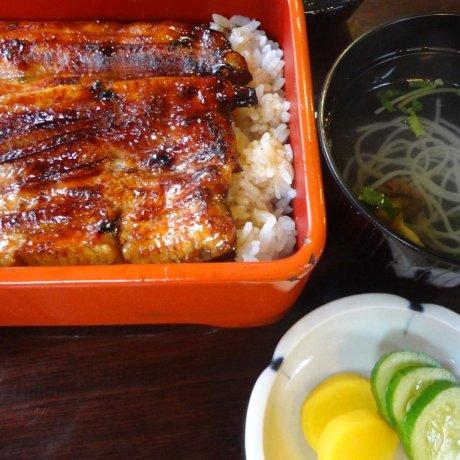 ร้านอาหารอุนะกิ ซะวะโมะโตะที่นิกโก้