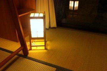 Lantern light by night