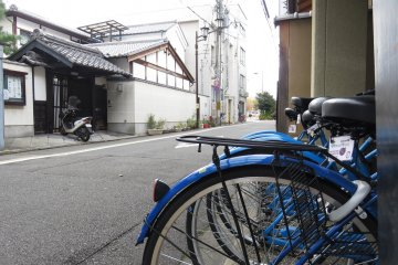 Hana Hostel is in a side street just 10 minutes walk north of Kyoto Station