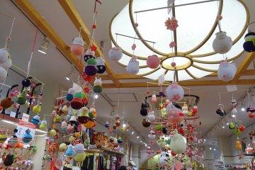 ร้านชิริเม็น ไซคุคัน ในตลาดนิชิกิ