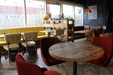 <p>頂樓的咖啡館</p>
