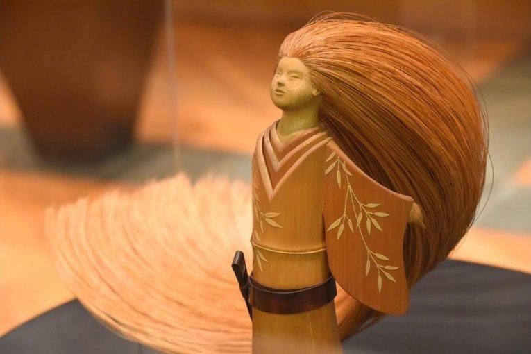 Triển lãm búp bê tre Echizen Reimei