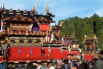 Festival d'automne à Takayama