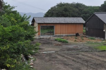 """Inujima I-Art House """"Eyeball Flower Garden"""""""