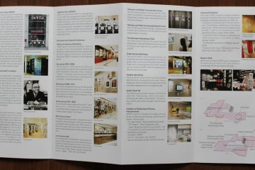 <p>A look into one of the leaflets, full of information&nbsp;</p>
