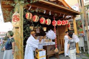 八雲神社の祭壇です。