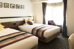 The rooms in HOTEL MYSTAYS Shinsaibashi are modern, chic and comfortable.