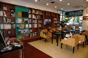 General Info Corner menjadi tempat favorit untuk membaca buku