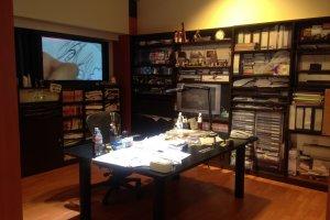 Ruang kerja Aoyama Gosho