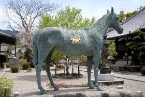 Shōtoku Taishi's favorite horse Kurokoma